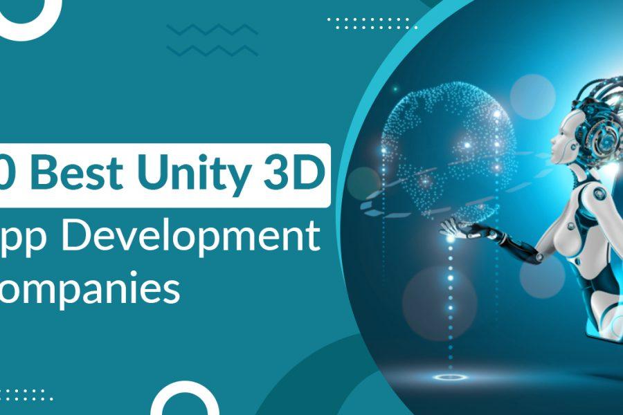 10 Best Unity 3D App Development Companies